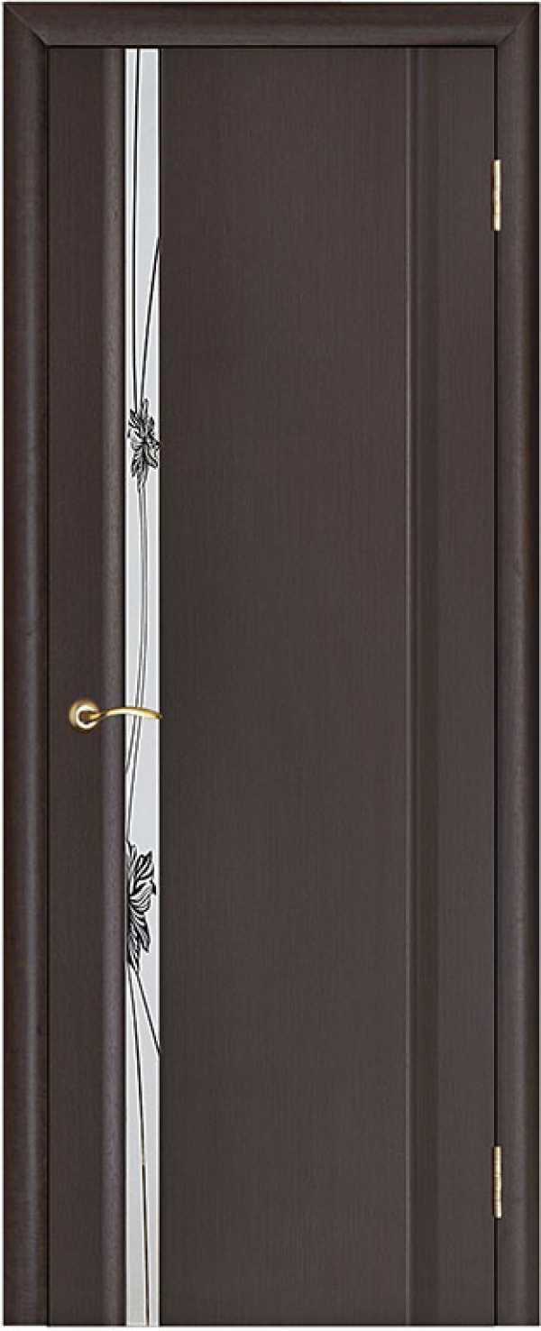 двери Стелла-1 венге зеркало
