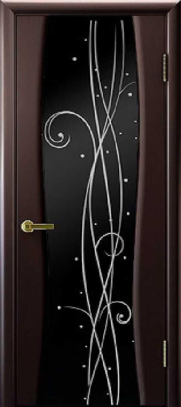 Двери Диамант-2 Венге