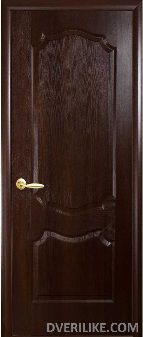 двери Фортис Вензель каштан