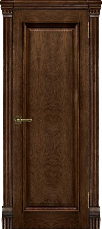 Двери Тоскана дуб бренди без стекла