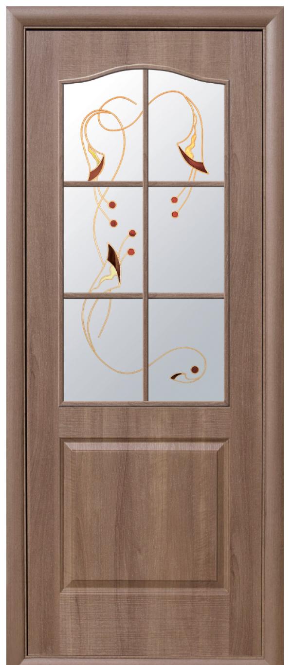 Двери Фортис Классик золотая ольха