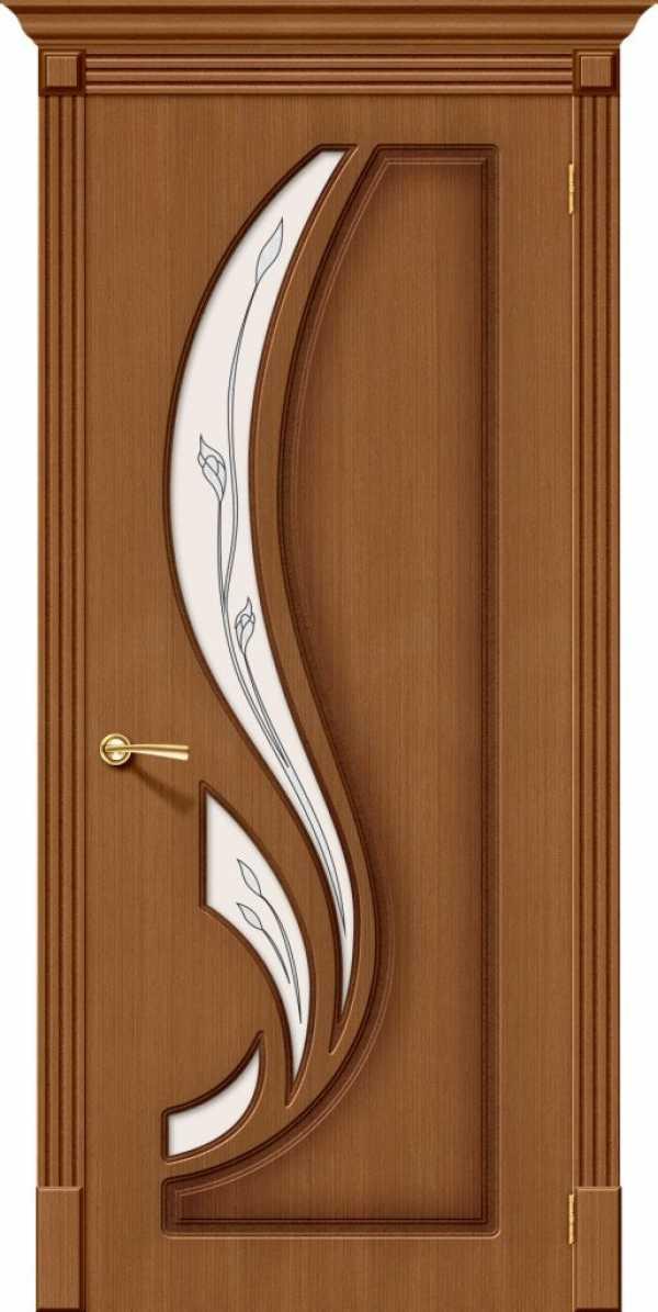 Дверь Лилия стекло