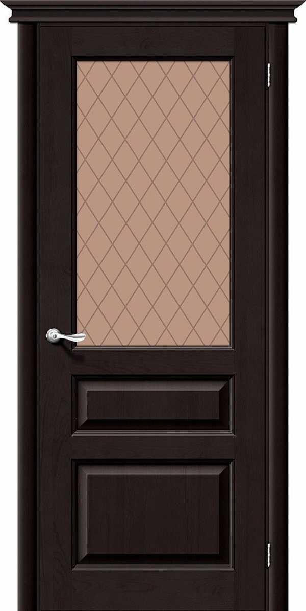 Дверь Вега М5 ТЕМНЫЙ ЛАК