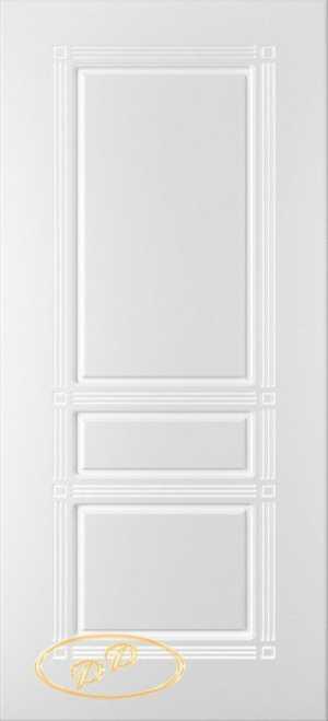 двери Троя белый жемчуг без стекла