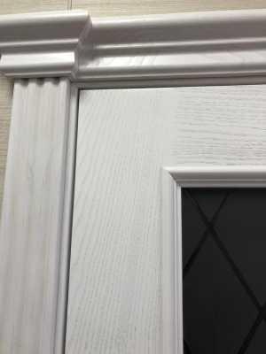 двери Милан ПО ясень жемчужный Капитель