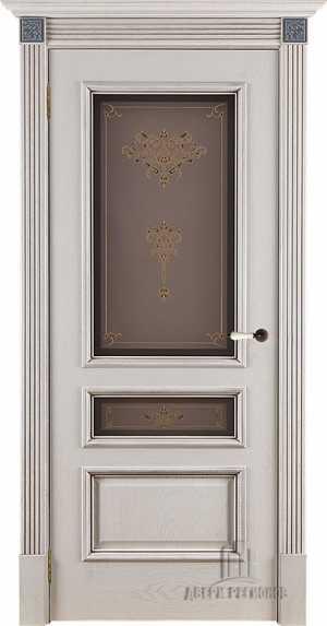 Двери Вена ПО нефрит розетка №3