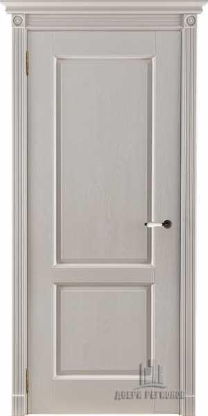 Двери Селена слоновая кость без стекла