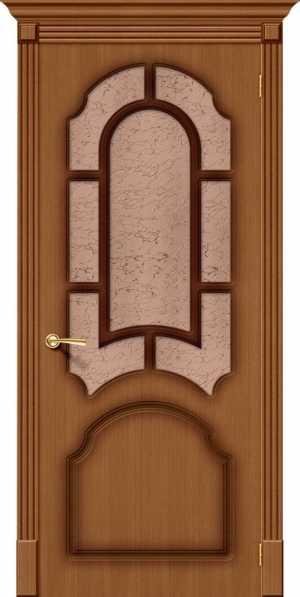 Дверь Соната стекло ОРЕХ