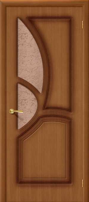Дверь Греция стекло ОРЕХ