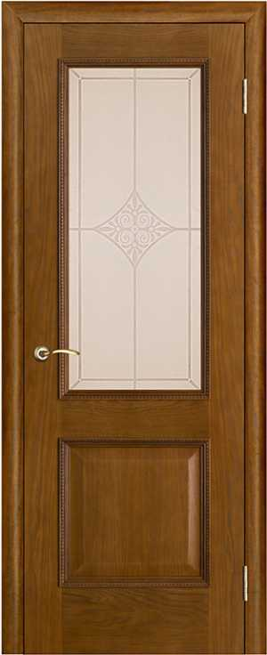 Дверь Шервуд стекло Ромб